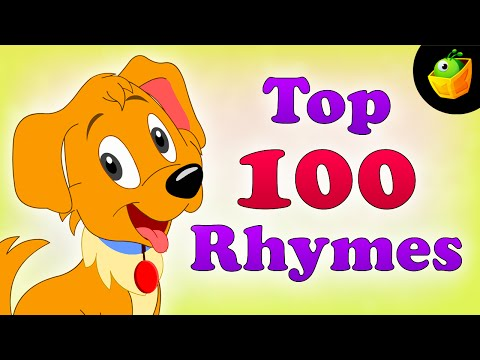 Top 100 Hit Songs - English Nursery Rhymes - Collection Of Animated Rhymes For Kids