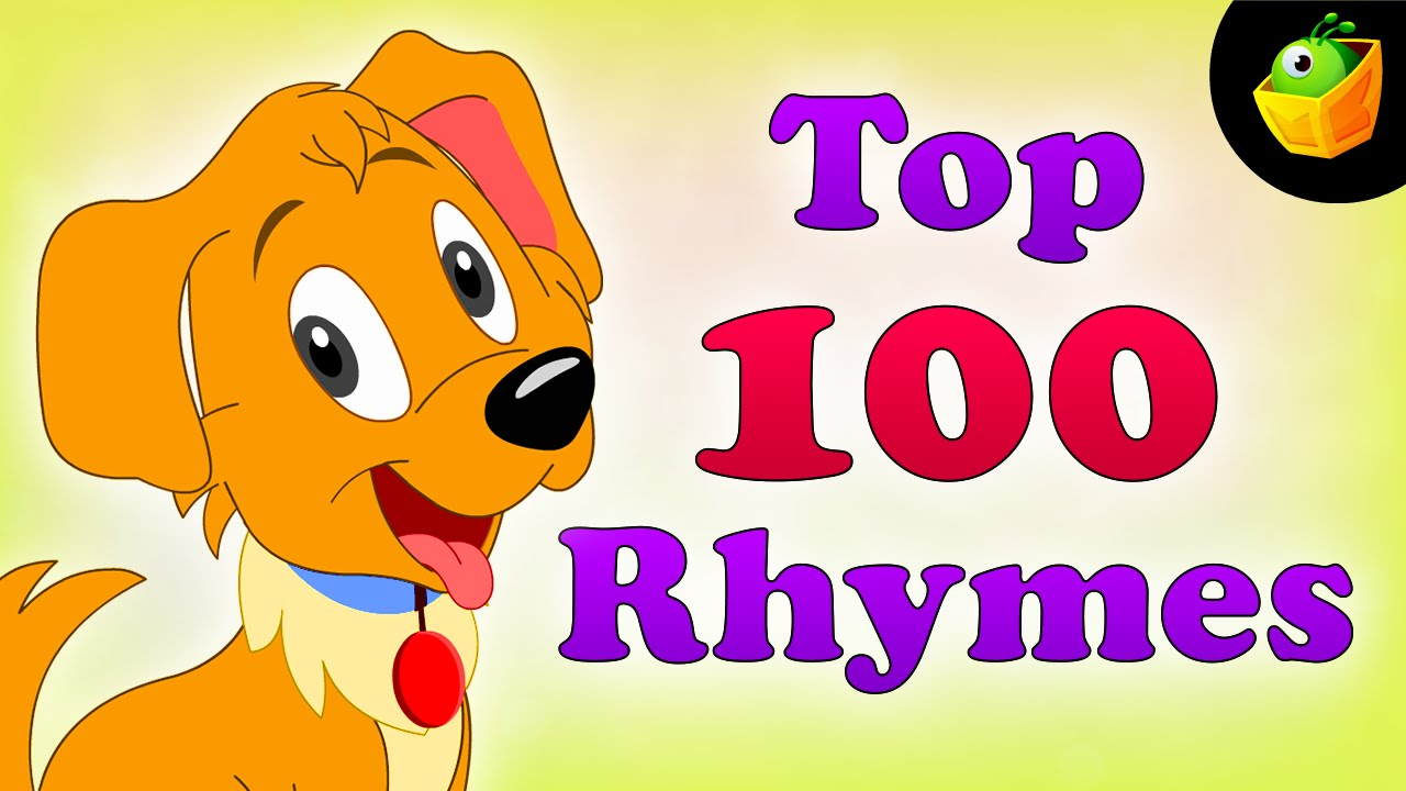Top 100 Hit Songs - English Nursery Rhymes - Collection Of Animated Rhymes For Kids - YouTube