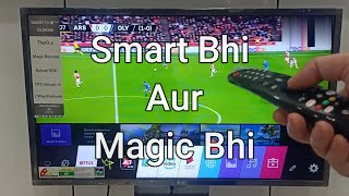 LG 32 inch HD LED TV SMART TV REVIEW Magic Remote Control Wifi amp Bluetooth 32LM636BPTB Unboxing