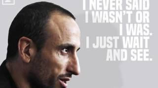 Manu Ginobili On Retirement