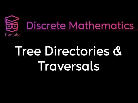 [Discrete Math 2] Tree Directories and Traversals