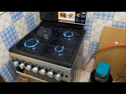 Gas And Electric Cooker Instructional Video