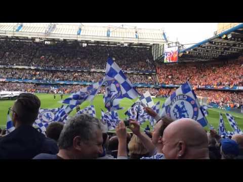 Chelsea v Atlético Madrid - Champions League SF 2nd Leg (Pre-Game) 30.04.14