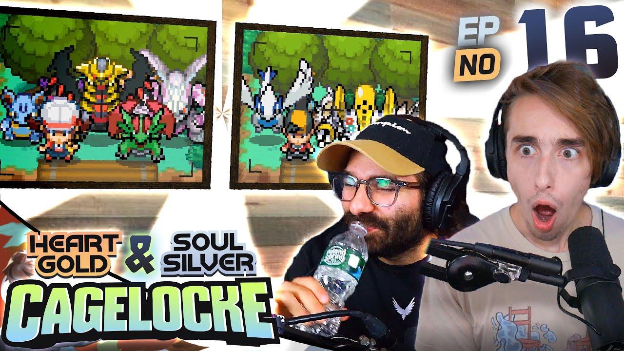 THE JOHTO FINALE!! - Pokemon Heart Gold & Soul Silver Cagelocke EP16