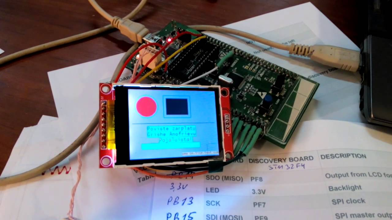 Automation and Automation, RF design: LCD Color ili9341