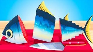 КОРМЛЮ КОТЕНКА #38 Новая Готовка Челлендж в мультяшной игре с Кидом. Прикольная видео для детей