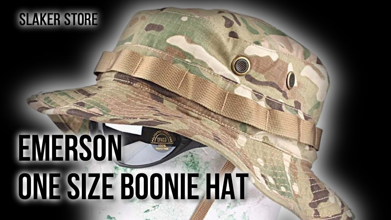 63b9b36ad87 EMERSON  ПАНАМА   ONE SIZE BOONIE HAT(MULTICAM) - YouTube