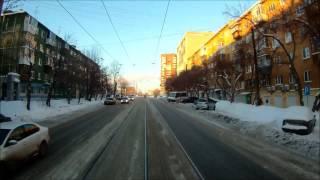 Трамвайный маршрут № 26, г. Екатеринбург.