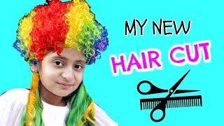 OMG!! My New Hair Cut  .... #VLOG #DIML #MyMissAnand