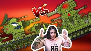 Ремонт советского монстра КВ-6 / Ликвидация КВ-44М - Мультики про танки / Kery Dreamer