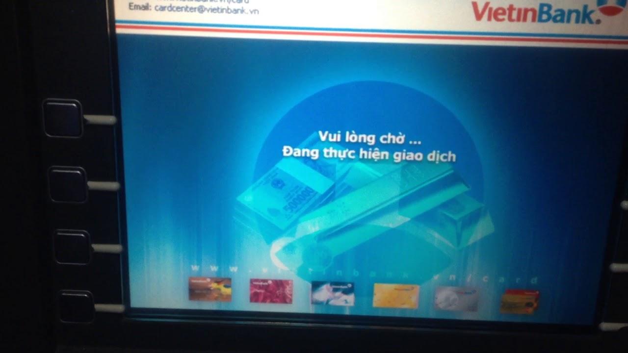 Cách đổi mã pin thẻ ATM vietinbank