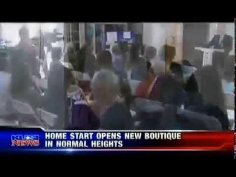 Home Start Thrift Boutique on KUSI - YouTube