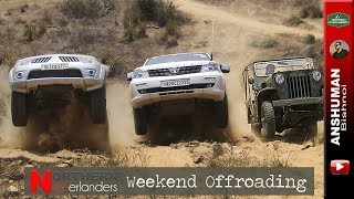 Jeep CJ3B, Storme, Fortuner, Thar, Pajero Sport, D-Max: Weekend Offroading | May2018