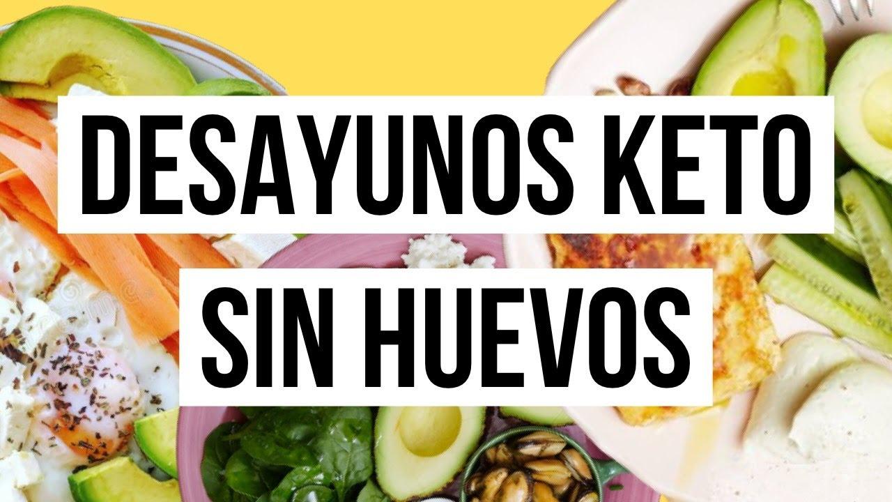 5 ideas DESAYUNOS KETO SIN HUEVOS!!!  RECETAS KETO FÁCILES