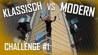 Dachdecker / Challenge #1 Dach einlatten / Wer nagelt schneller? 🔨