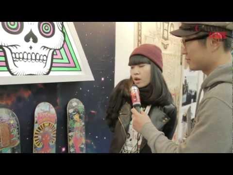 ISPO Beijing 2012 - Lady Skateboards & other local skate brand