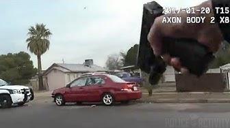 Raw Bodycam Footage Captures Police Shootout in Glendale, Arizona
