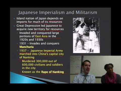 Lesson 30- Conflict Part 11- Japan and the Philippines