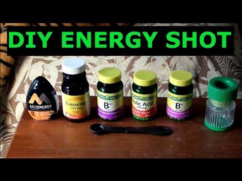 DIY Homemade 5 Hour Energy Shot