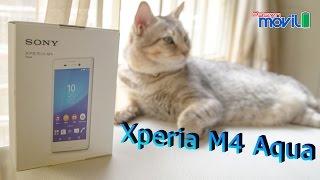 Xperia M4 Aqua - Unboxing en Mexico con Telcel