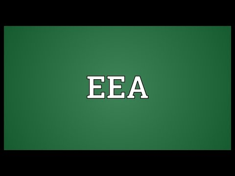 EEA Meaning