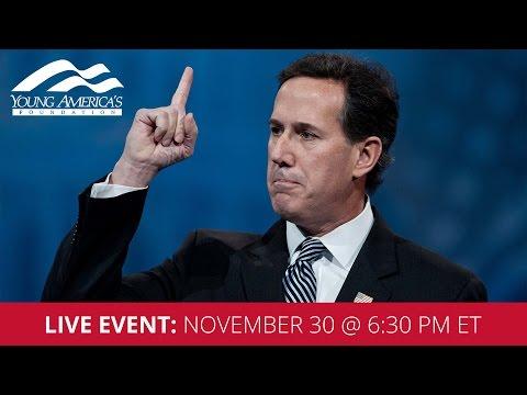 Rick Santorum LIVE at Cornell University