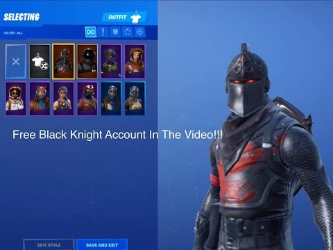 HOW TO GET A FREE ACCOUNT WITH 10+ SKINS + STW (UPDATED) + FREE BLACK KNIGHT ACCOUNT