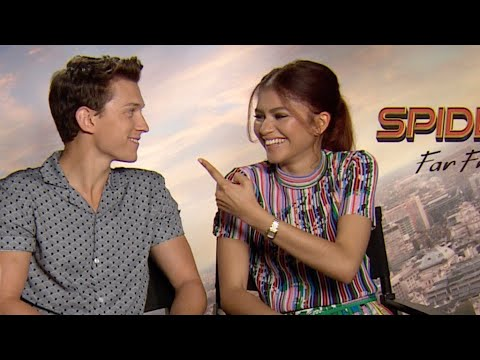 SPIDER-MAN FAR FROM HOME Interviews: Tom Holland, Zendaya, Jake Gyllenhaal, Samuel L. Jackson