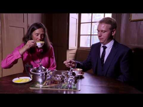 Tea Etiquette: The Royal Butler Visits Dr Johnson's House, In London