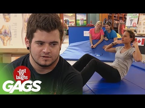 Workout Farts & Crazy Coach Pranks - JFL Gags Olympics Edition