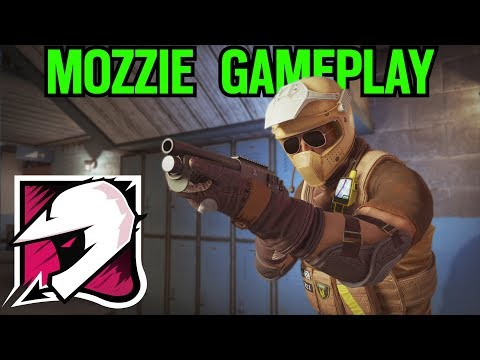MOZZIE Gameplay & Testing!! - Rainbow Six Siege