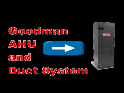 HVAC Install | 2 Ton Goodman Air Handler and Duct