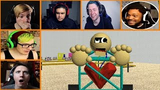 Let's Players Reaction To 1st Prize | Baldi's Basics In Education And Learning thumbnail