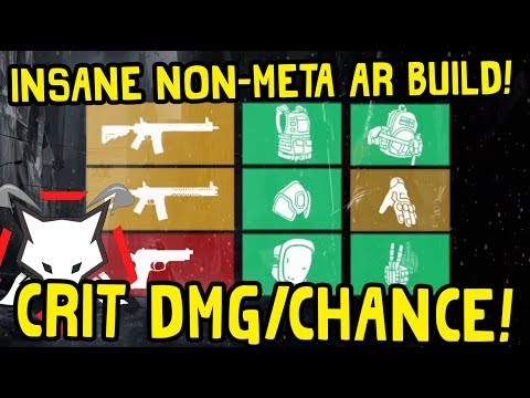 The Division   Smg Alphabridge Build  Crit Chance