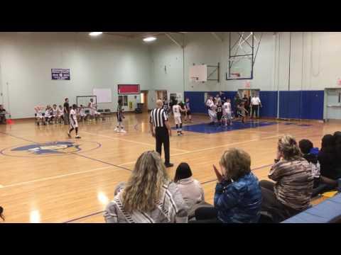 Waldwick Middle School Basketball 1/4/17