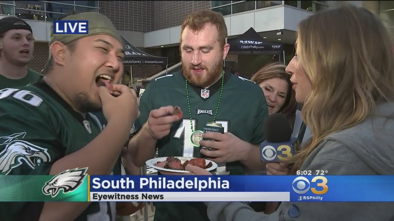 Eagles fans crowd South Jersey bars just before Super Bowl kickoff