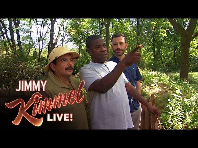 Tracy Morgan And Jimmy Kimmel Tour The Bronx Zoo Time