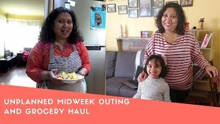 Unplanned Midweek Outing & Grocery Haul| Family Vlog in Bengali By Foodie's Hut Life