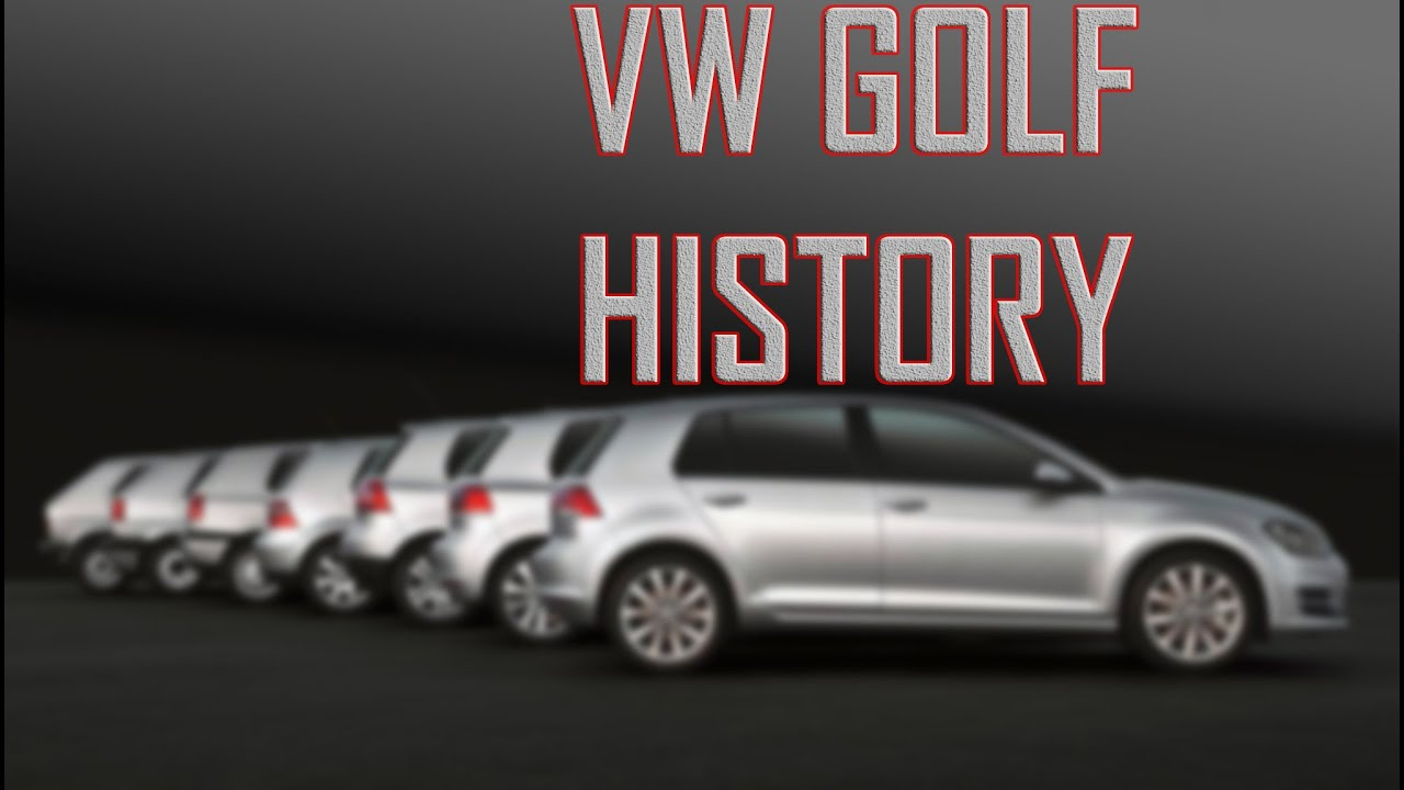 Vw golf history pictures
