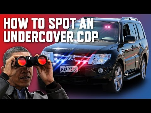 8 Ways To Spot An Undercover Cop Car