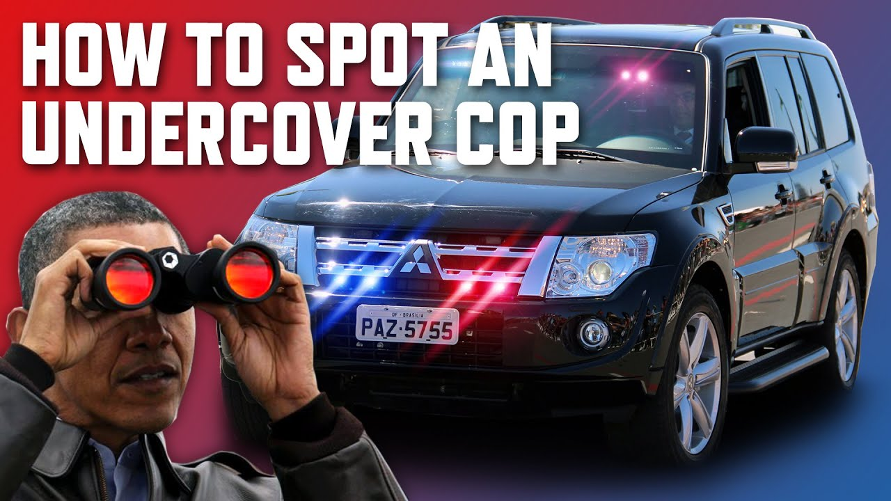 8 Ways To Spot An Undercover Cop Car Youtube