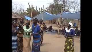 African Village Wedding of Pojulu in South Sudan 2014