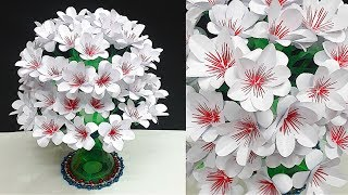 DIY-Empty Plastic bottle Guldasta made with paper flower| Water Bottle Recycle - Home Decor idea