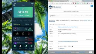 Universal Wallet Mainnet Demo   Golem Transfer