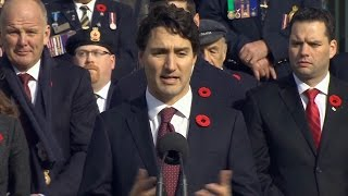 Trudeau says Trump expressed warmth towards Canada