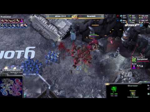 [2017 GSL Season 1]Code S Ro.32 Group F Match5 Scarlett vs a