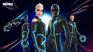 New TRON Skins in Fortnite! (Season 5)