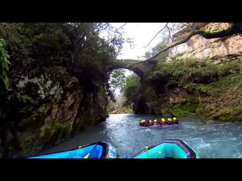 Rafting Lousios 19/01/2014 Trekking Hellas Arcadia