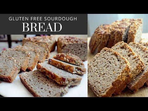 Gluten Free Sourdough Bread Recipe | Vegan, Yeast Free, Gum, Dairy, Oil & Soy Free Gluten Free Bread