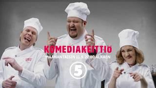 Komediakeittiö, maanantaisin 11.9. alkaen 21.00 TV5